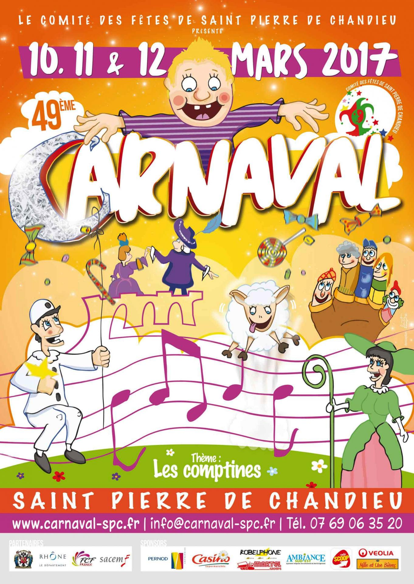 Carnaval saint pierre de chandieu